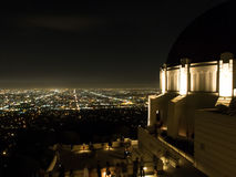Griffith Observatory in Los Angeles. USA Stock Images