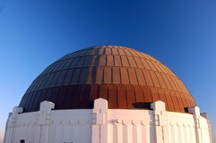 Griffith Observatory, Main Bui Royalty Free Stock Image
