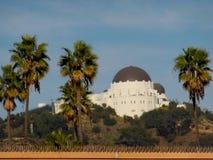 Griffith Observatory op de Heuvel stock afbeeldingen