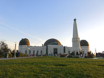 Griffith Observatory. Scenic view of Griffith Observatory in Los Angles, California, U.S.A Stock Photography