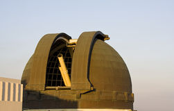 Griffith Observatory Telescope Stock Photo