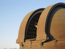 Griffith observatory. Telescope at the Griffith Observatory Stock Photo