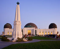 Griffith Observatory Twilight Royalty Free Stock Images