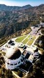 Griffith Observatory van Los Angeles Californië Stock Afbeeldingen