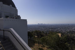 Griffith obserwatorium, Los Angeles, Kalifornia Zdjęcia Stock