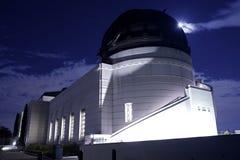 Griffith Park et observatoire photographie stock