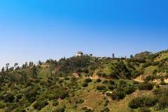 Griffith Park i Los Angeles Fotografering för Bildbyråer
