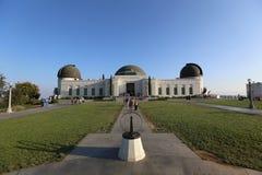 Griffith Park observatorium Arkivbild