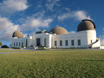 Griffith Park Observatory. Famous Los Angeles city owned landmark Royalty Free Stock Photos