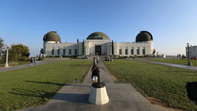 Griffith Park Observatory stock video footage