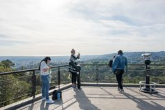 Griffith Park Observatory Royalty Free Stock Images