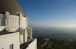 Griffith Park Observatory in Los Angeles, USA Stock Image