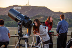 Griffith Park Observatory Stock Image