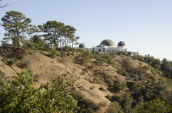Griffith Park Observatory Royalty Free Stock Photos