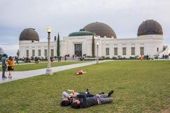 Griffith Park Observatory, une icône de Los Angeles Photo libre de droits