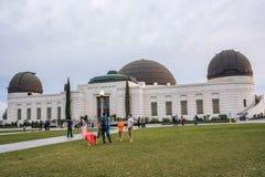 Griffith Park Observatory, une icône de Los Angeles Photo stock