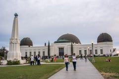 Griffith Park Observatory, une icône de Los Angeles Images libres de droits