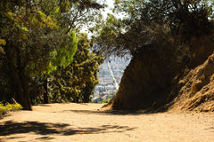 Griffith park trail Stock Images