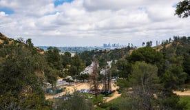 Griffith Parkowy i W centrum Los Angeles Kalifornia atrakcje turystyczne Obraz Royalty Free