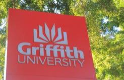 Griffith University Brisbane Australia. Griffith University in Brisbane Australia. Griffith University is a public research university in South East Queensland Stock Photography
