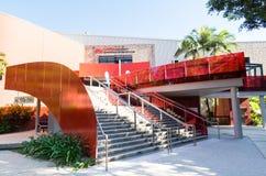 Griffith University Queensland Conservatorium at Southbank in Brisbane Australia. Brisbane, Australia - July 9, 2017: Griffith University Queensland Royalty Free Stock Photo