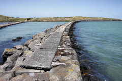 Griffiths Island causeway, Port Fairy Royalty Free Stock Photos