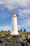 The Griffiths Island Lighthouse (Australia) Stock Images