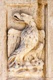 Griffon i basrelief Royaltyfri Fotografi