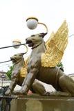 Griffon sculpture. Royalty Free Stock Image