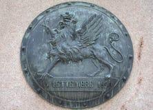 Griffon-Symbol von Perugia Stockbild