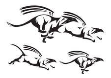 Griffon tribal Illustration Stock