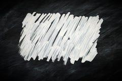 Griffonnage de craie sur un tableau noir Photos stock