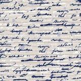 Griffonnages Pushkin Image libre de droits