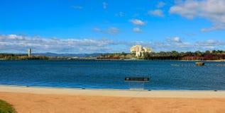Grifo de Burley do lago, Canberra, ATO, Austrália imagens de stock