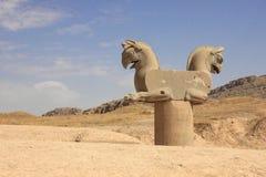 Grifo del Achaemenid en Persepolis (Irán) Imagenes de archivo