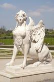 Grifon dama przy belwederu pałac Fotografia Stock