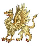 griggin heraldic Стоковое Изображение