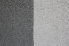 grigio chiaro - costruzione grigio scuro del gesso, struttura Fotografia Stock Libera da Diritti