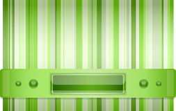 Grigio - fondo verde con la disposizione. Fotografia Stock