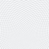 Grigio a strisce astratto ed il bianco hanno curvato il modello del triangolo allineato V illustrazione di stock
