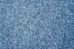 Grigio - tappeto blu del tessuto Fotografie Stock Libere da Diritti