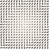 Griglia alla moda del semitono di Minimalistic Reticolo in bianco e nero senza giunte di vettore illustrazione di stock