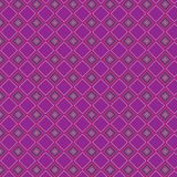 Griglia alla moda variopinta Mesh Pattern Background del retro estratto rosa del plaid Illustrazione Vettoriale