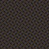 Griglia alla moda variopinta scura Mesh Pattern Background del retro plaid Illustrazione di Stock