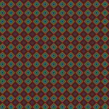 Griglia alla moda variopinta scura Mesh Pattern Background del retro plaid Royalty Illustrazione gratis
