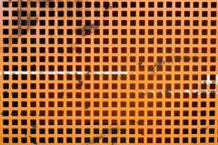 Griglia arancione Immagini Stock