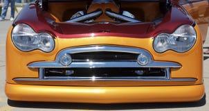 Griglia arancione del Rod caldo Immagini Stock