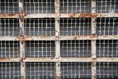 Griglia arrugginita del metallo Immagini Stock Libere da Diritti
