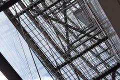 Griglia astratta del metallo Immagine Stock