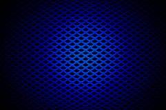 Griglia blu Immagini Stock